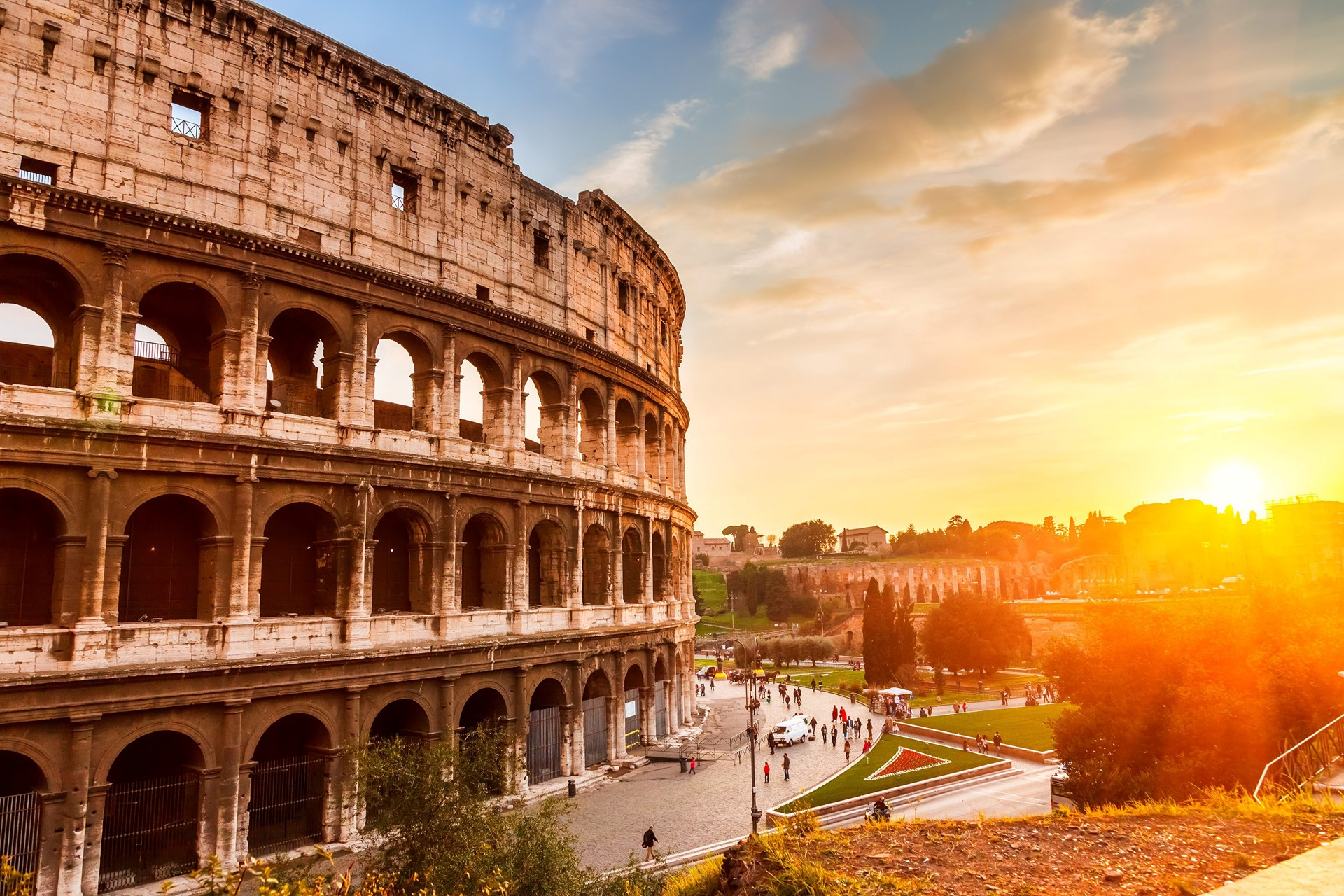 Italy, the Country of Art, Love and History